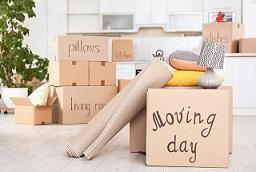 packning inför flytt